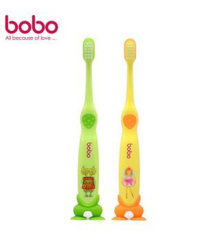 BOBO 乐儿宝 宝贝牙刷细毛护龈牙刷