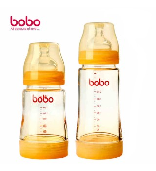 BOBO 乐儿宝 新生防胀气小金瓶 200ml/280ml