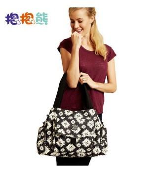 抱抱熊 K07手提妈咪袋时尚多功能简洁高雅妈咪包