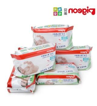 (Pigeon) 贝亲 80片柔湿巾6连包