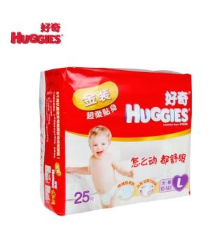 好奇 Huggies 金装超柔贴身纸尿裤大号25片