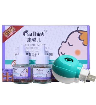 康馨儿 蚊香液大礼包(无味) 2瓶+蚊香器