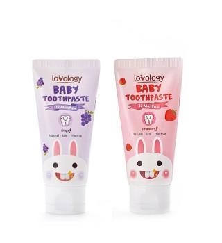 Lovology 全因爱 婴幼儿健康防蛀牙膏(原装进口)