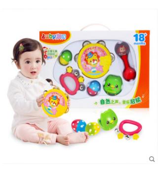 【18个月+】澳贝 奥尔夫乐器6件装 宝宝启蒙乐器 儿童打击乐器