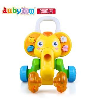 澳贝玩具 小象学步车 可调速 宝宝学步车 推车学走