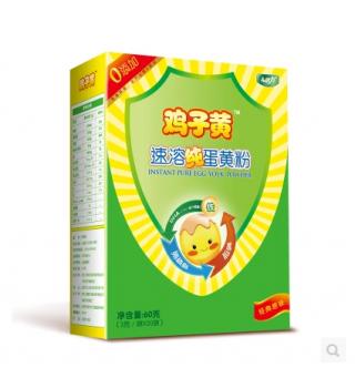 健力鸡子黄速溶纯蛋黄粉原味3g*20袋/盒