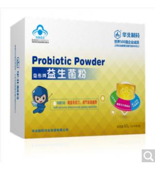 华北制药钙铁锌益生菌粉3g*6袋/小盒4小盒/大盒