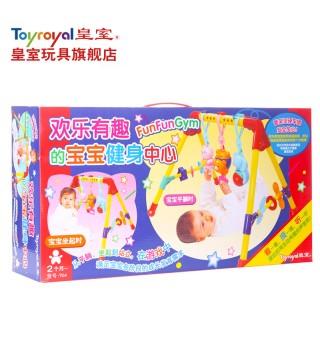 Toyroyal日本皇室宝宝四脚健身架多功能音乐健身器婴儿玩具0-1岁