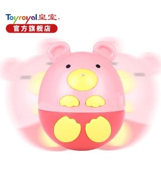 Toyroyal日本皇室玩具 婴幼儿益智早教玩具 儿童健身小熊不倒翁