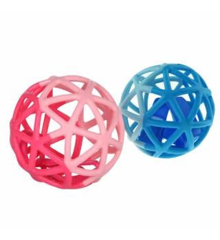 Toyroyal皇室玩具魔法洞洞球婴儿牙胶咬咬胶宝宝手摇铃手抓球