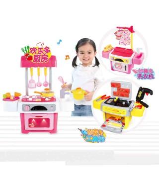 【3岁+】澳贝 儿童过家家厨房洗衣机玩具 男孩女孩过家家工具箱