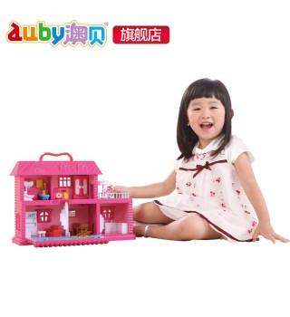 【3岁+】澳贝玩具 女孩音乐梦想屋音乐盒 auby儿童过家家玩具