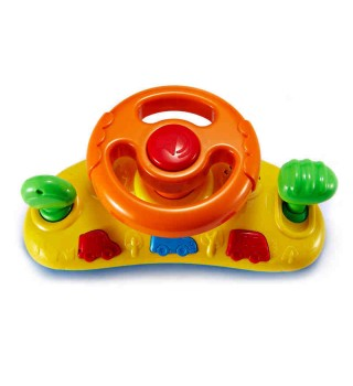 【适用9个月+】auby澳贝玩具 宝宝快乐方向盘 模拟驾驶 儿童玩具