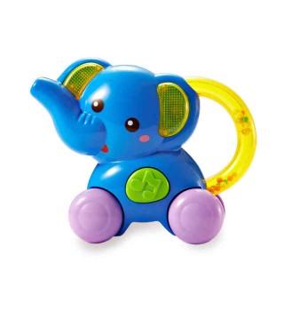 【适用9个月+】澳贝Auby 早教玩具乐器 启智系列 小象喇叭 音乐