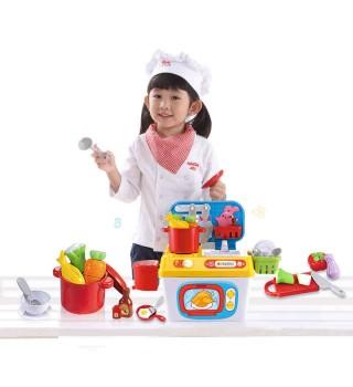 【3岁6岁】澳贝魔幻厨房 仿真过家家厨房玩具 儿童礼物 diy益智