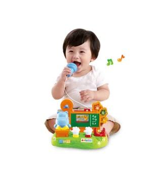 【适用12个月+】澳贝 河马说话机 语言启蒙宝宝益智早教玩具