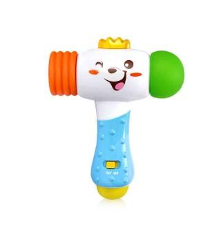 【适用12个月+】澳贝玩具 启智早教 探索电子锤 宝宝锤子玩具