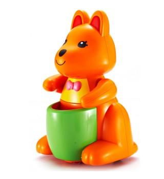 澳贝 启智系列 亲子袋鼠 儿童训练行走 激发想象力 亲子互动玩具