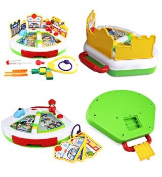 澳贝职业体验镇奥贝宝宝多功能早教益智 儿童玩具台