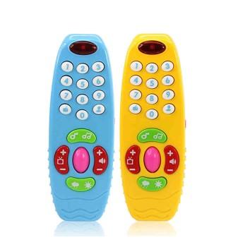 澳贝学习遥控器中英语学习婴儿早教益智玩具