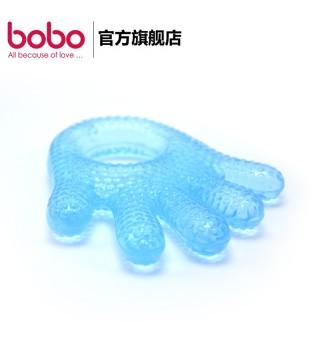 bobo乐儿宝牙胶 卡通咬牙胶磨牙棒婴儿硅胶玩具 趣味水牙胶