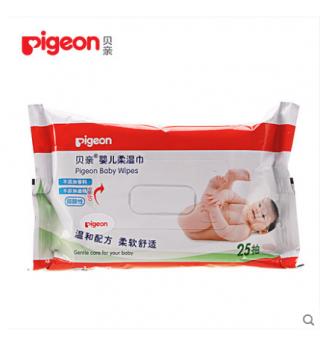 贝亲—婴儿柔湿巾25片装