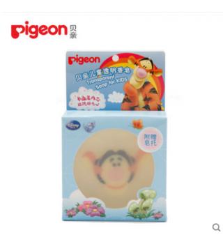 贝亲-儿童透明香皂(跳跳虎卡通人物) 80g