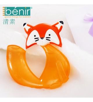 benir清素宝宝牙咬磨牙棒用品牙胶婴儿宝宝磨牙器磨水牙胶玩具