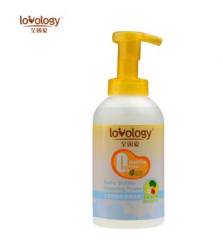 全因爱宝宝奶瓶果蔬清洁液清洁泡500ML清洁清洗剂