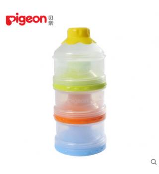 贝亲—大容量独立开口三层奶粉盒